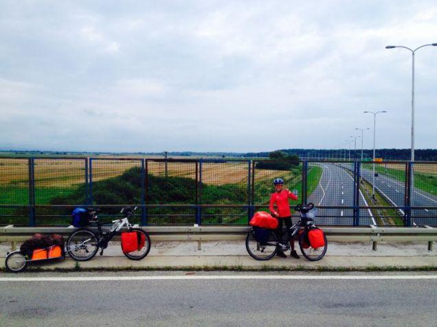 leaving Croatia, 2000km total!