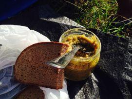 dinner - Ajvar with Horseradish - yummy
