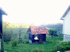 ethno-style hut at Iva camp