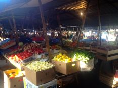 local market - something that does not exist in the West