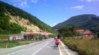 leaving Bijelo Polje