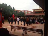 next morning, commemoration of Atatürk's death
