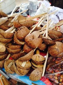 ladles from coconut