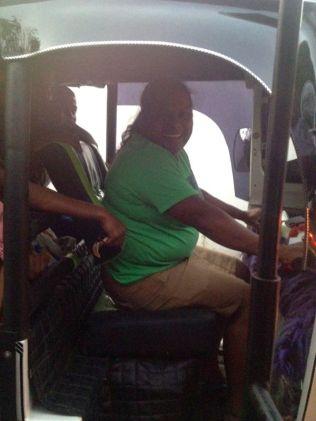 only female tuk tuk driver in Sri Lanka :)