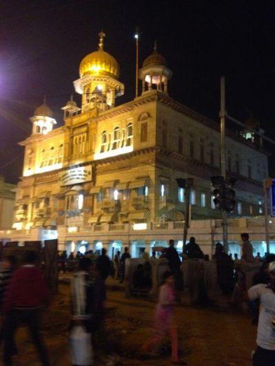 Gurudwara - a Sikh temple