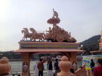quick visit to Rishikesh