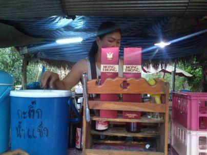 roadside bar, Hong Thong