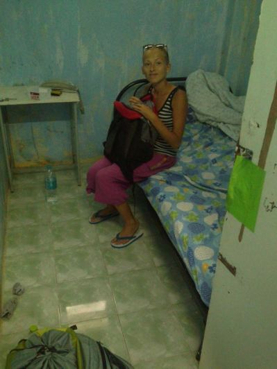 our room in Mae Sot