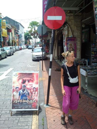 Little India, pity the music is not audible!