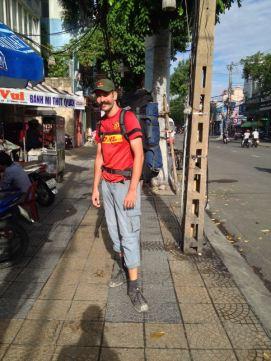 leaving Da Nang