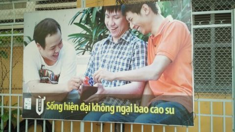 3 guys, 2 condoms?