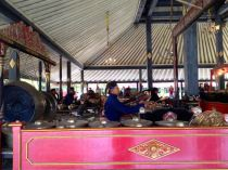Gamelan at the Sultans palace
