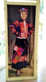 at the Vietnamese women museum