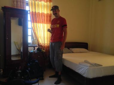 our hostel double room (10$)