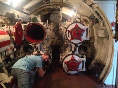 loading the torpedos