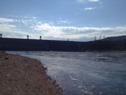 Yenisey hydro power
