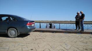 ferry on Irtysh