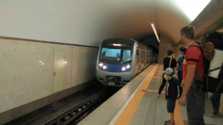metro runs (after some 20 years of construction)
