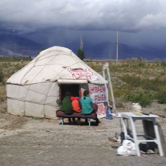 roadside yurt (shop)