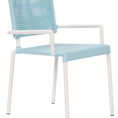 Blue And White Dining Chairs Wedding Lido Outdoor Chair With Arms Pr Home