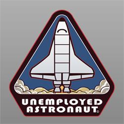 Unemployed Astronaut: Logo