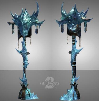 Guild Wars 2: Svanir Ice Dragon flag