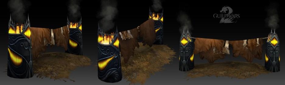 Guild Wars 2: Char bed