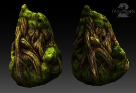 Guild Wars 2: Roots with procedural mapping