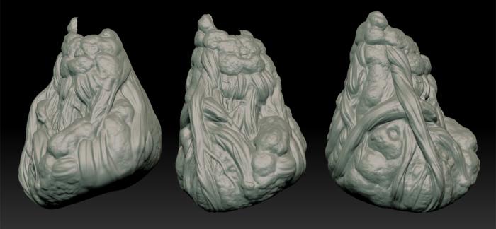 Guild Wars 2: Roots Sculpt