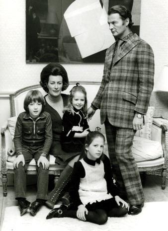 David Pamela Ashley Edwina India Hicks - family photo