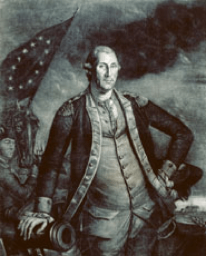 His Excellency George Washington Esquire, Mezzotint dated 1780, by Charles Wilson Peale