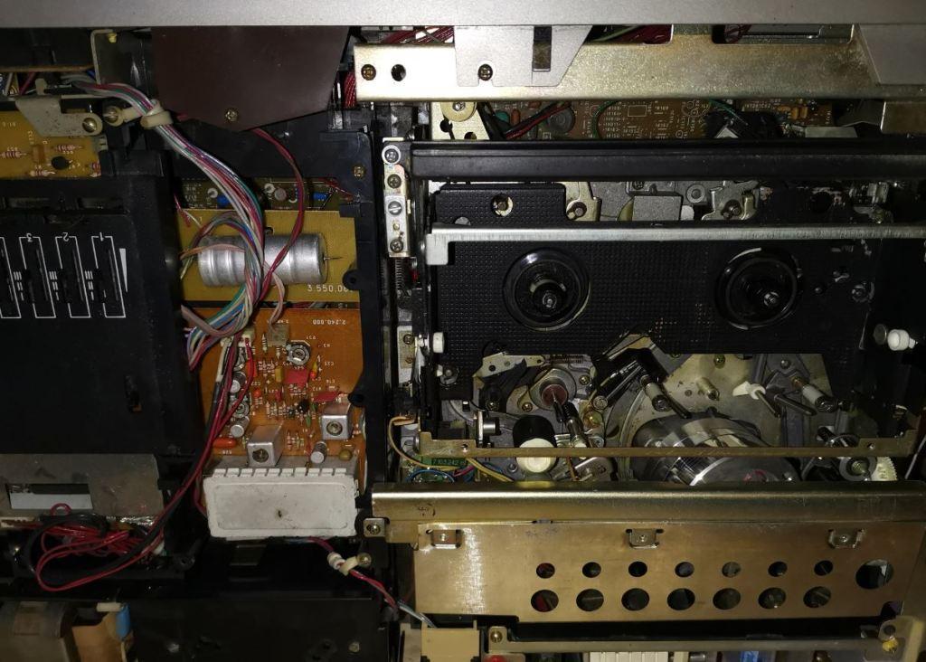 Электроника ВМ-12 разборка