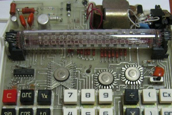 Электроника МК-41 плата вариант с КМ6