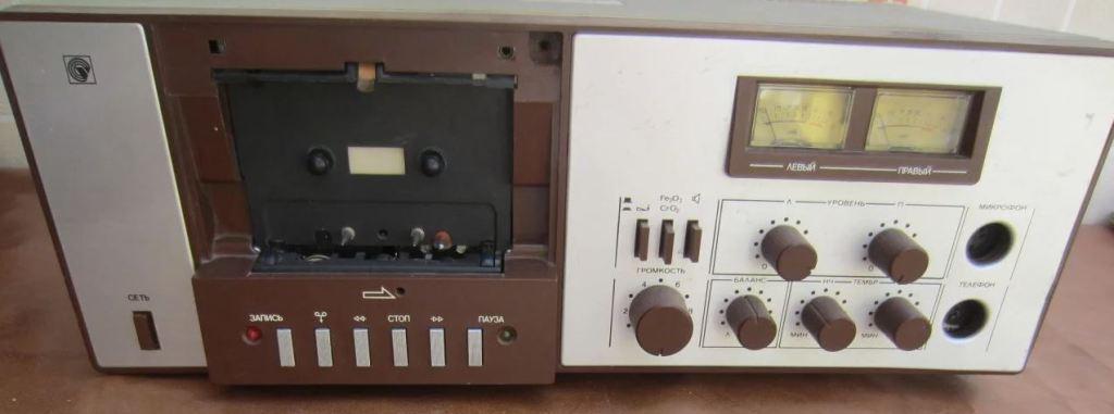 Вильма (Vilma) 312 стерео стационарный кассетный магнитофон