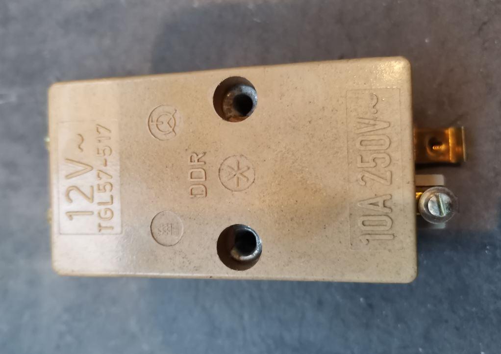Реле дистанционного переключения DDR TGL 57-517