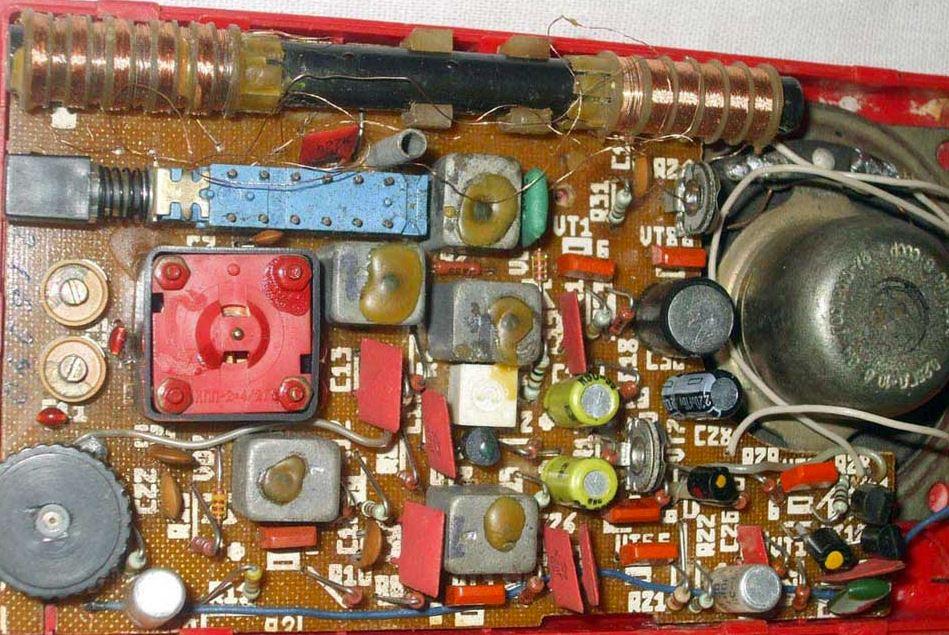 радиоприёмник Волхова РП-202-1
