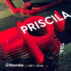 Priscila Candia - DJ - Blondie