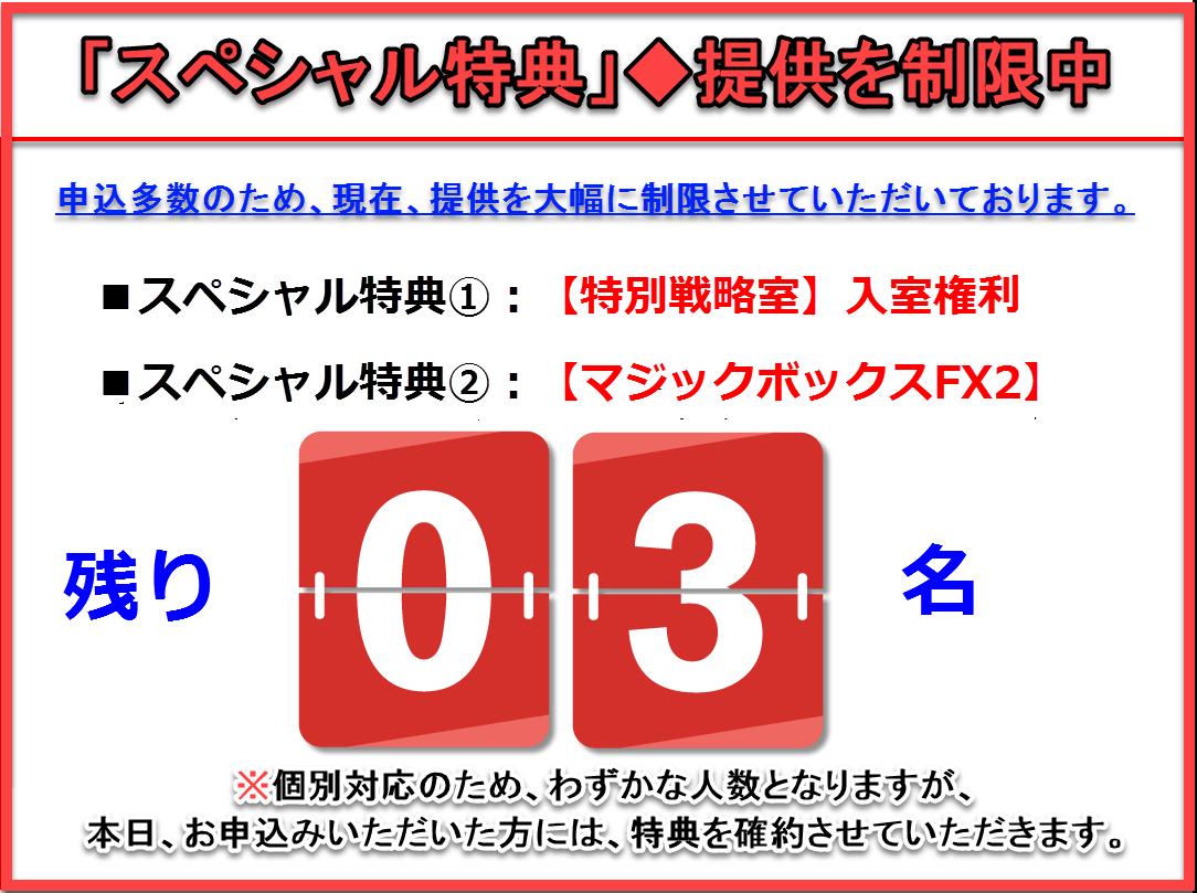 マジックボックスFX2+特別戦略室・限定数