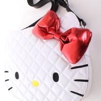 HELLO KITTY-ის თეთრი ჩანთა