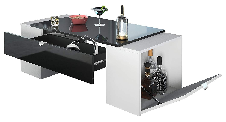 Meuble Tv Ultra Design Chaud Meuble Tv Blanc Laque Roulettes