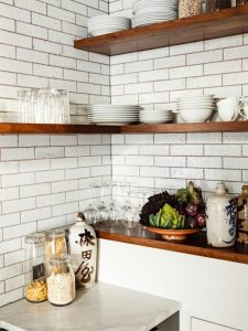 Maximize your space with corner shelves