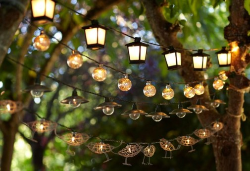 Outdoor lights remain a perennial favorite for outdoor spaces