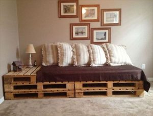 pallet sofa bed