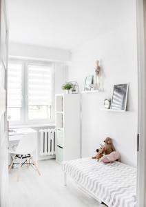Kids room designed in minimalist style