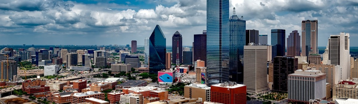 A view of Dallas in Texas.