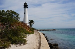 Lighthouse in Key Biscayne, a place that is definitely a part of the Miami-Dade County lifestyle.