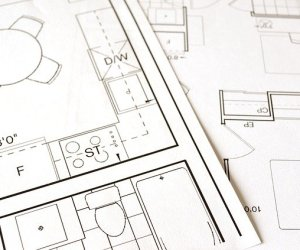 A floor plan for home remodeling in Vestavia Hills.