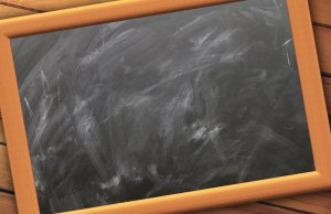 A black board to put on the wall when organizing your Silver Spring home office.