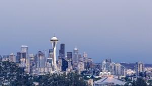 Seattle city view.