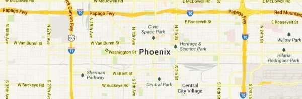 phoenix-arizona-map